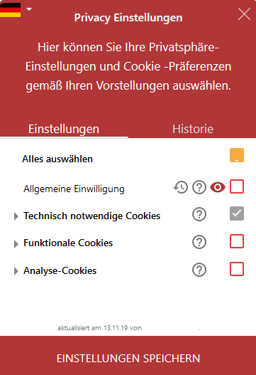 Cookie-Banner Einwilligung
