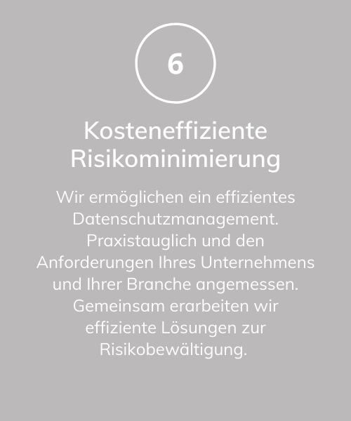 Risikominimierung
