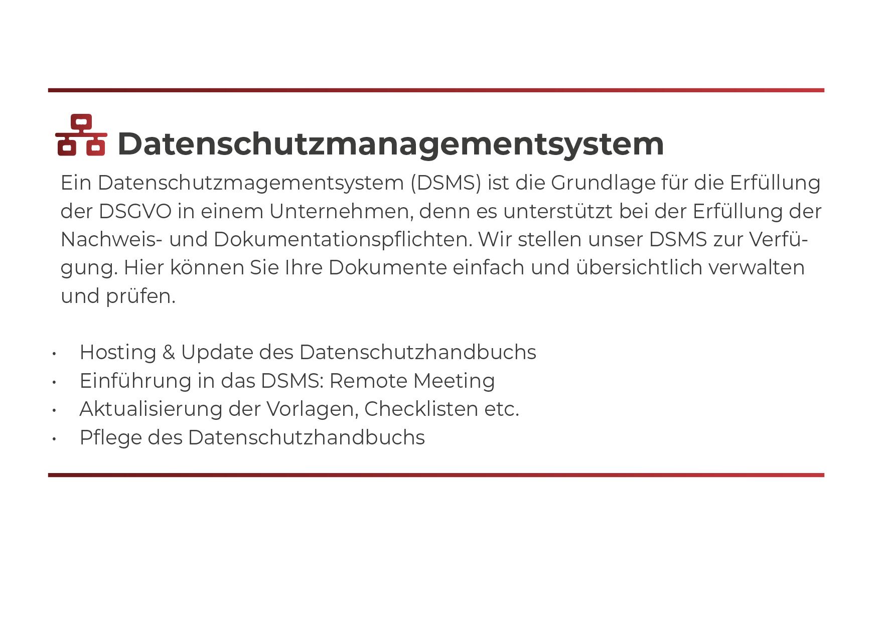 DSMS Medium